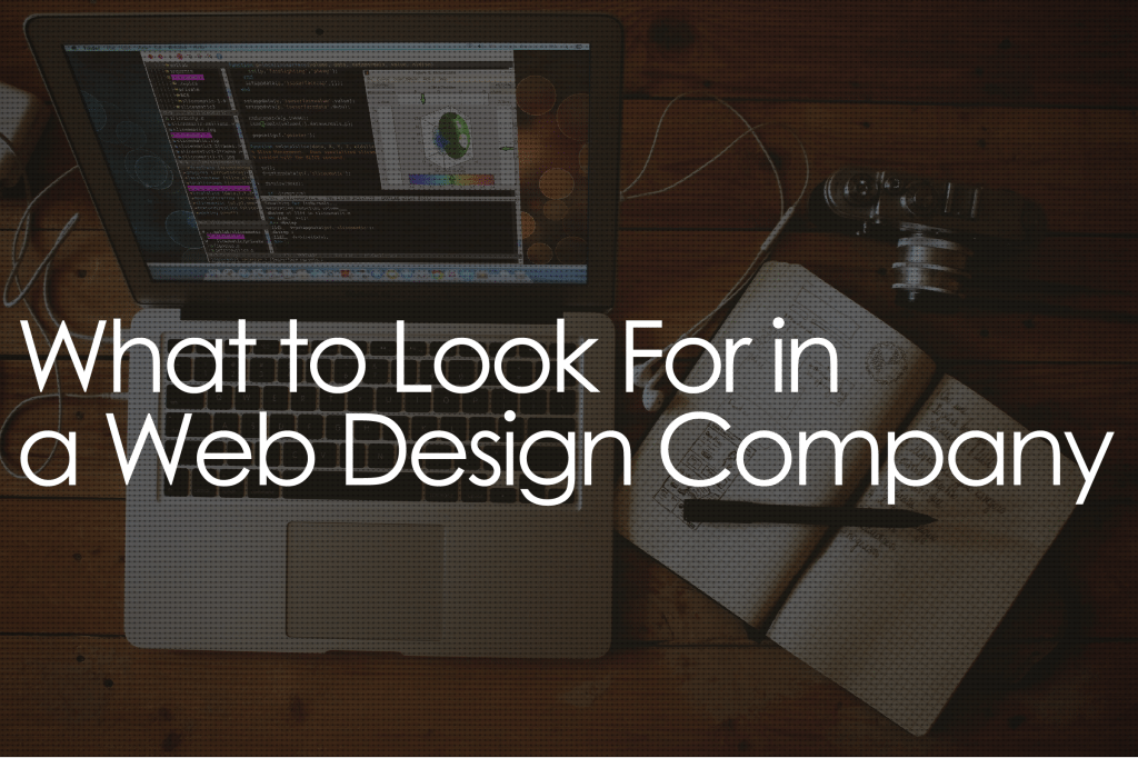 Some Pointers When Considering A Web Design Company