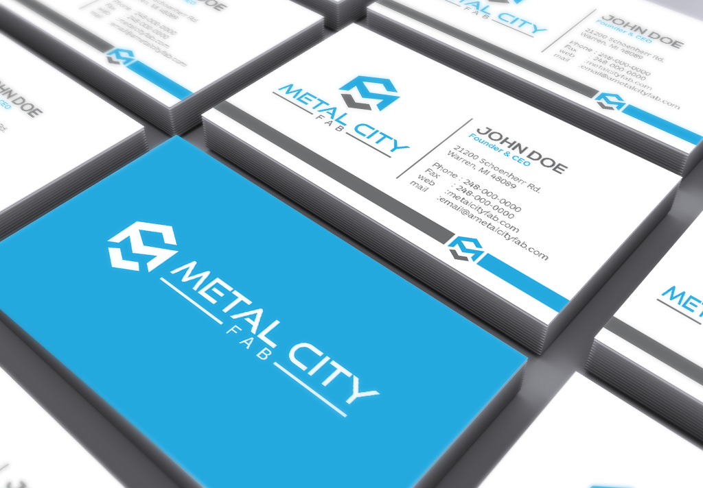 Brand Identity Project for Metal Fabrication Company